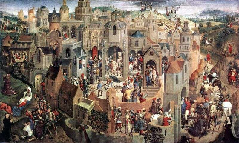 Pasja Chrystusa   Hans Memling