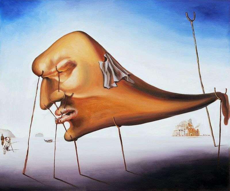 Śpij (śpiąc)   Salvador Dali