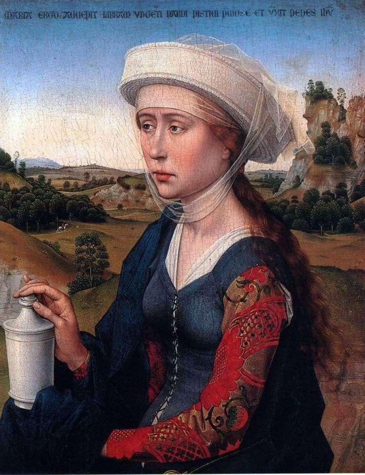 Maria Magdalena. Część tryptyku małżeństwa   Rogier van der Weyden