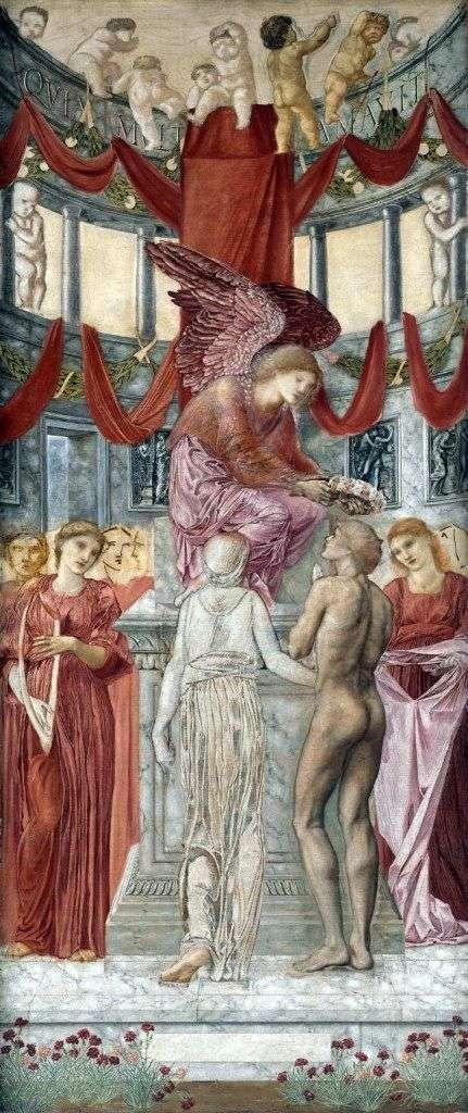 Świątynia miłości   Edward Burne Jones