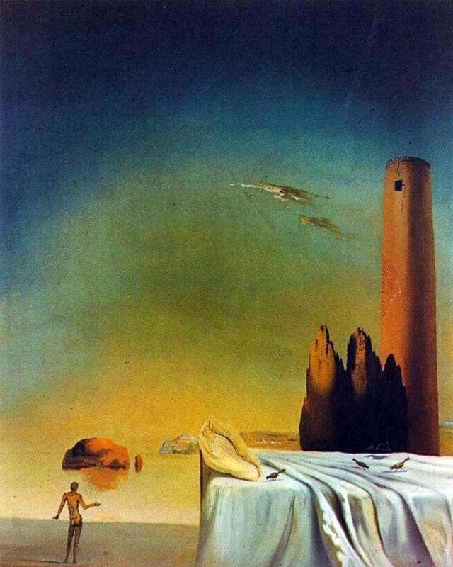 Nadchodzi sen   Salvador Dali