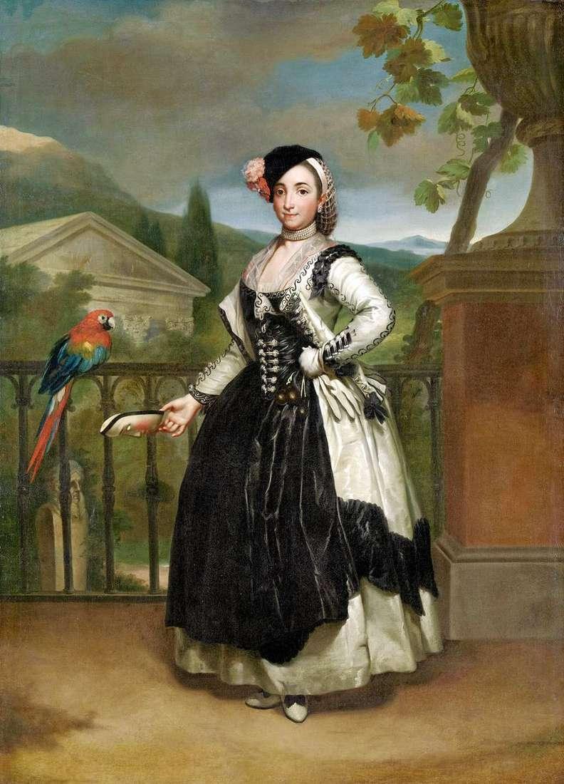 Marquise de Llano   Anton Raphael Mengs