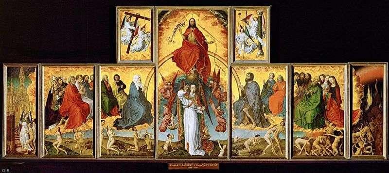 Poltyptyk Sądu Ostatecznego   Rogier van der Weyden