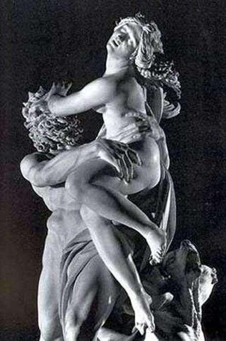 Porwanie Prozerpiny (fragment)   Lorenzo Bernini