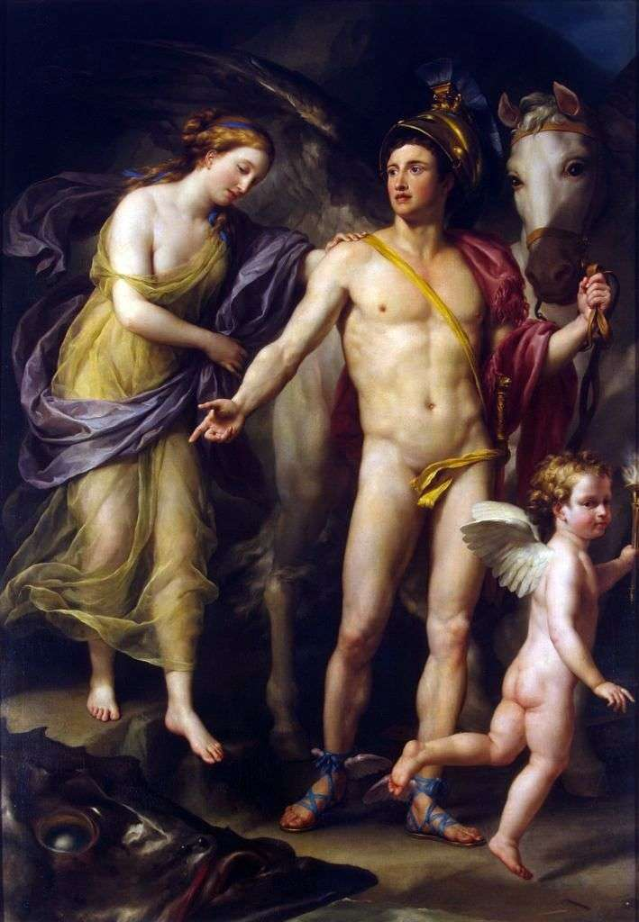 Perseusz i Andromeda   Anton Raphael Mengs