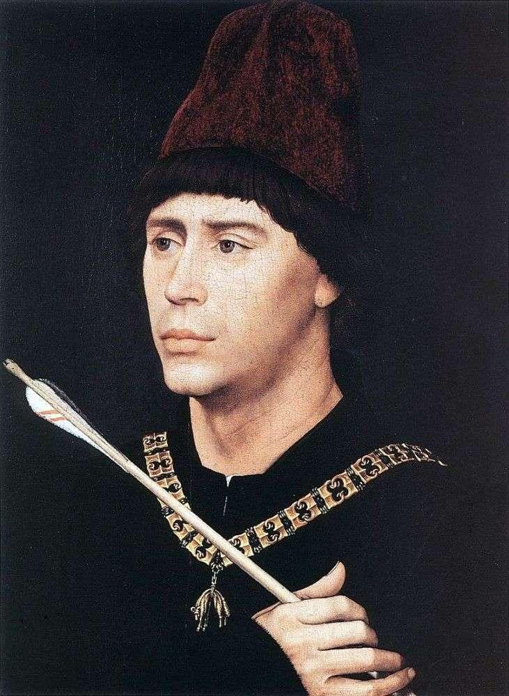 Portret Antoine z Burgundii   Rogier van der Weyden