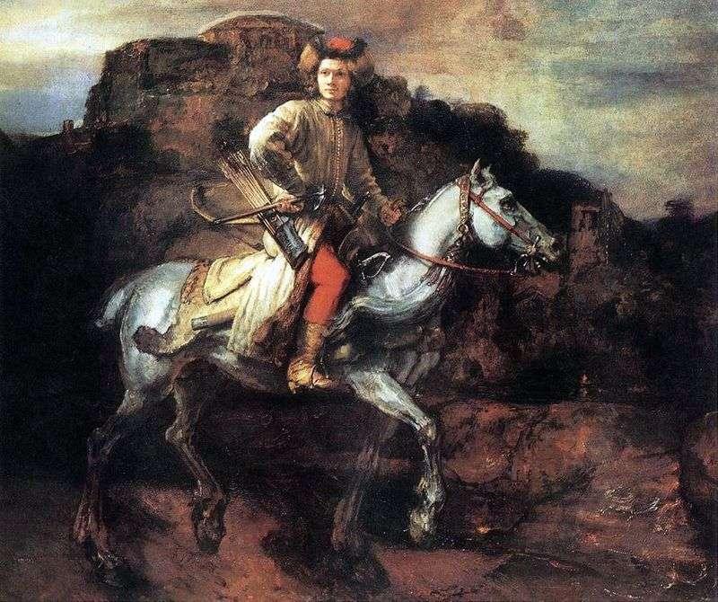 Polski Jeździec   Rembrandt Harmens Van Rhine