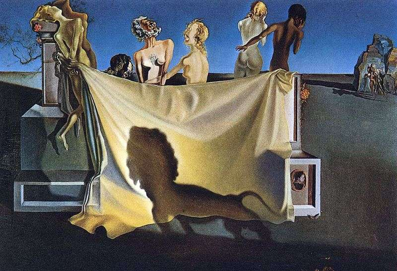 William Tells Old Age   Salvador Dali