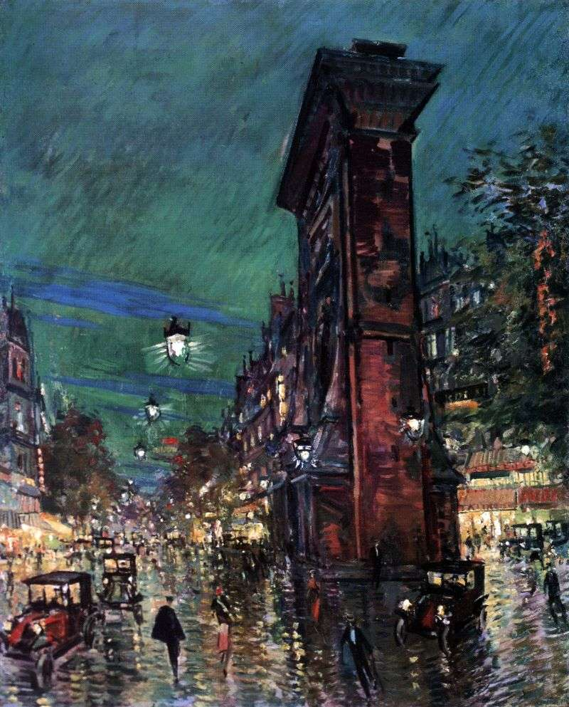 Paryż Saint Denis   Konstantin Korovin