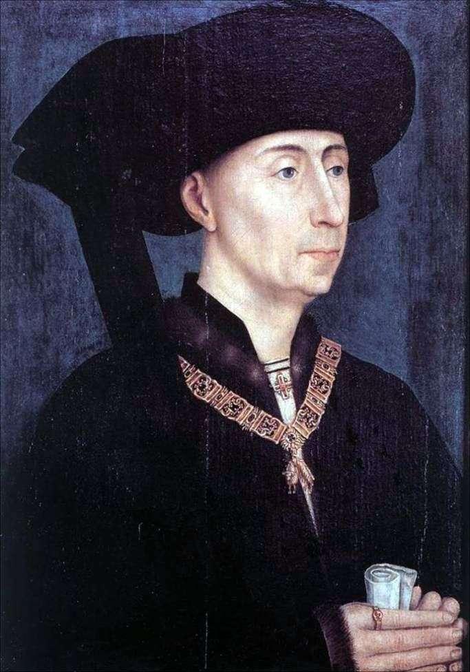 Portret Filipa Dobrego   Rogier van der Weyden
