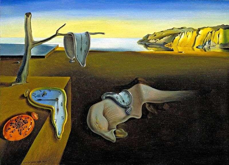 Trwałość pamięci   Salvador Dali