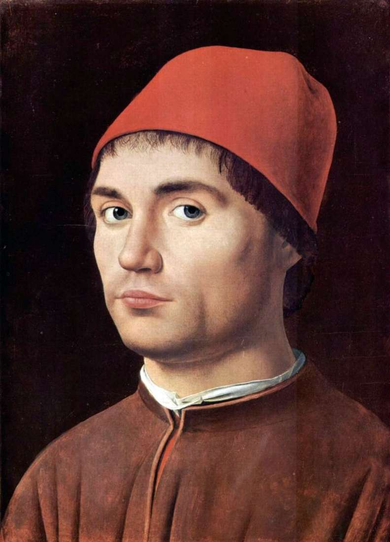 Portret męski   Antonello da Messina