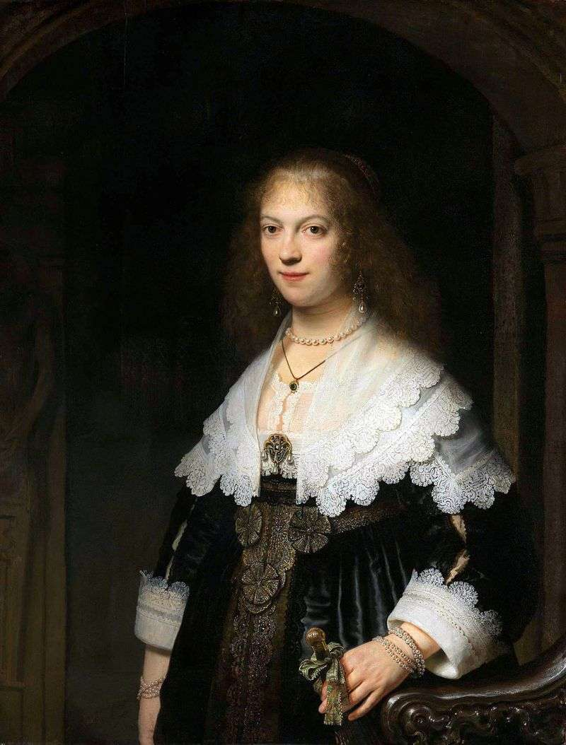 Portret Marii Trip   Rembrandt Harmens Van Rhine