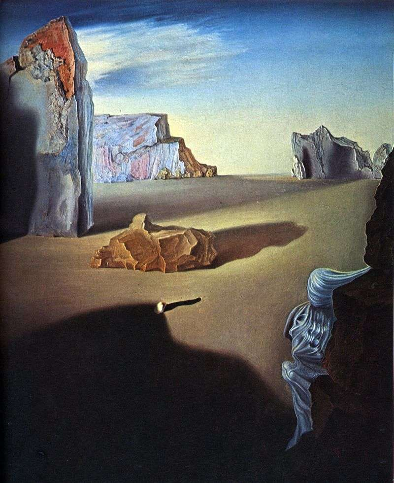 Shadows of Melting Night   Salvador Dali