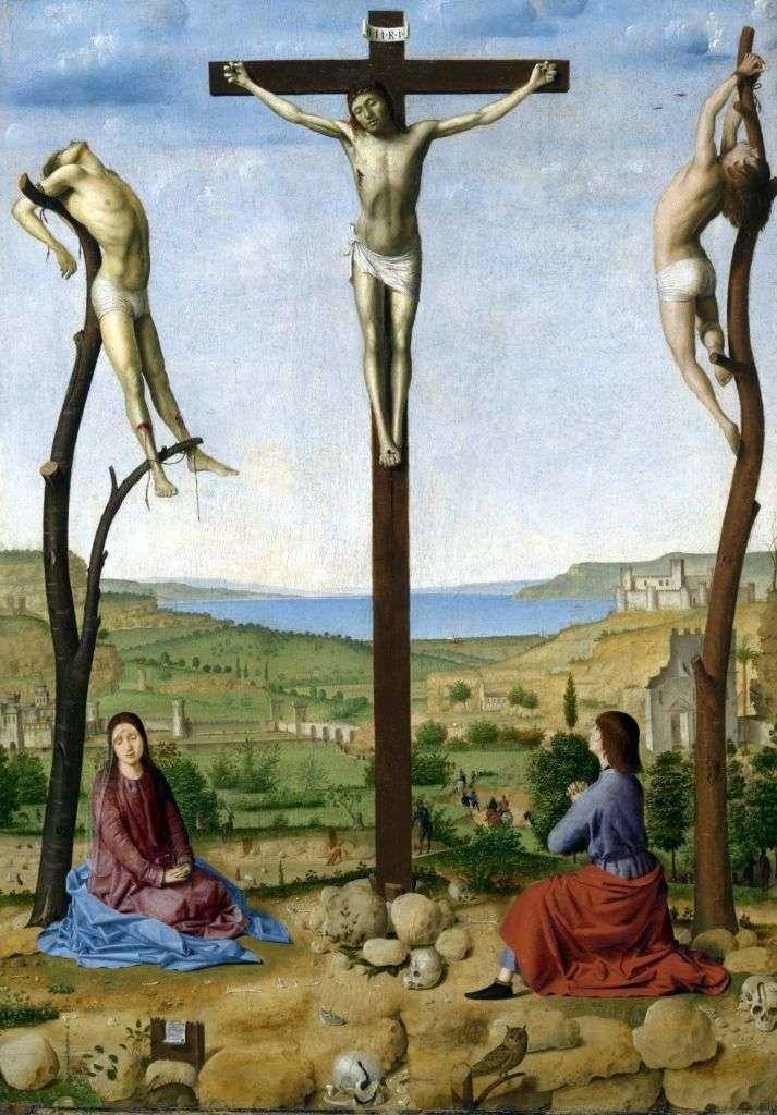 Ukrzyżowanie   Antonello da Messina