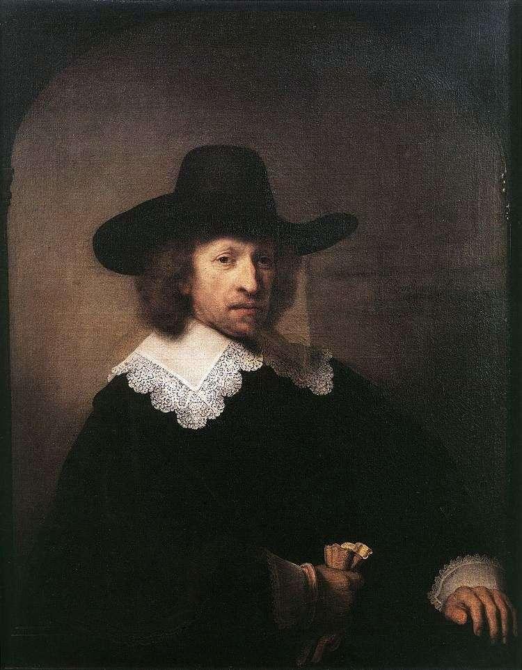Portret Mikołaja Van Bambek   Rembrandt Harmens Van Rhine