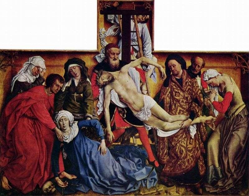 Zejście z krzyża   Rogier van der Weyden