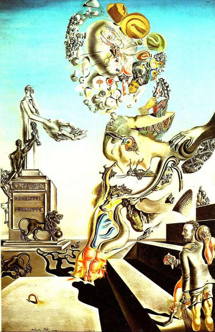 Gra żałobna   Salvador Dali