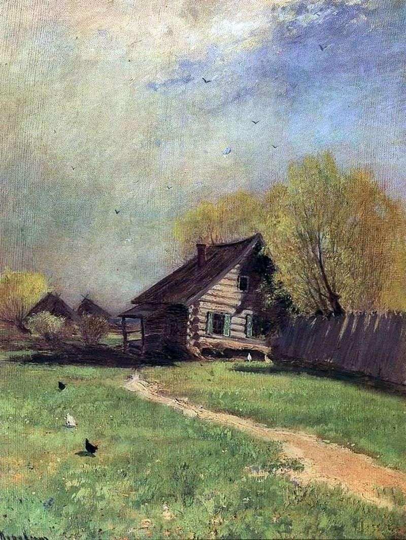Wczesna wiosna   Konstantin Korovin