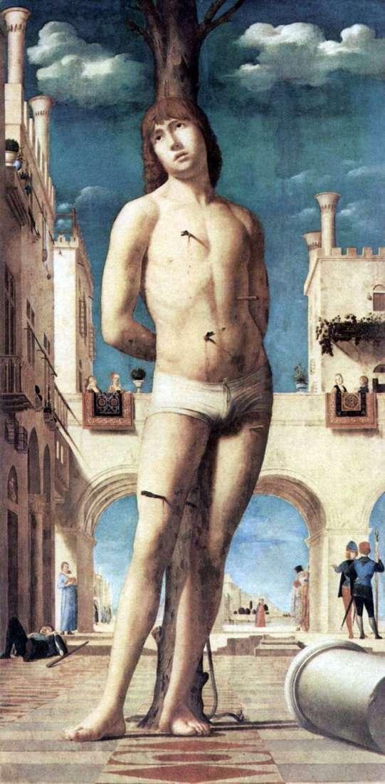 Święty Sebastian   Antonello da Messina