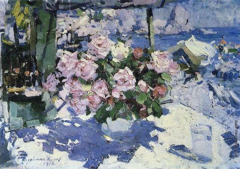 Róże   Konstantin Korovin