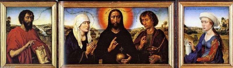 Tryptyk Braque   Rogier van der Weyden