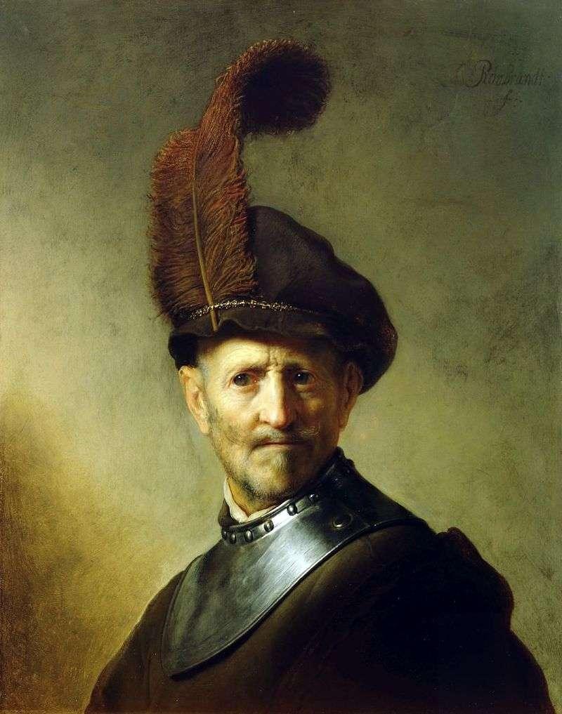 Portret starego wojownika   Rembrandt Harmens Van Rhine
