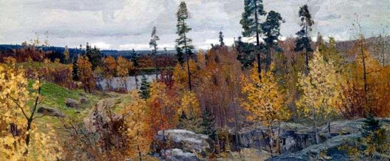 Złota jesień w Karelii   Wasilij Mychow