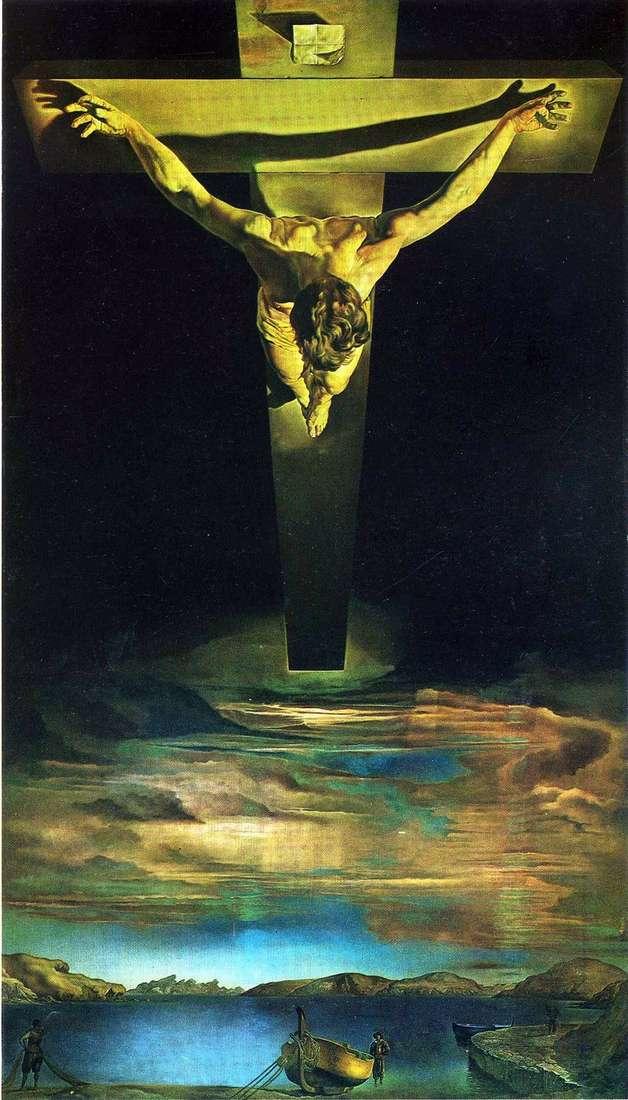 Chrystus św. Jan od Krzyża   Salvador Dali
