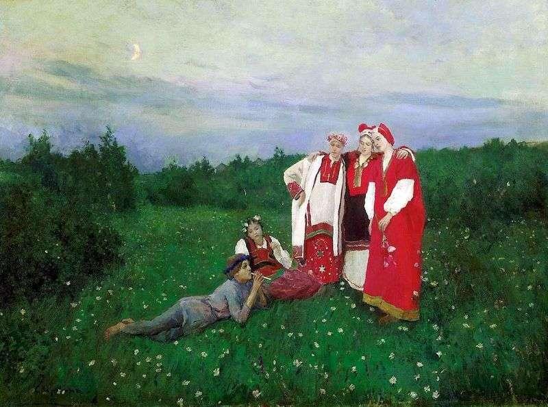 Północna idylla   Konstantin Korovin