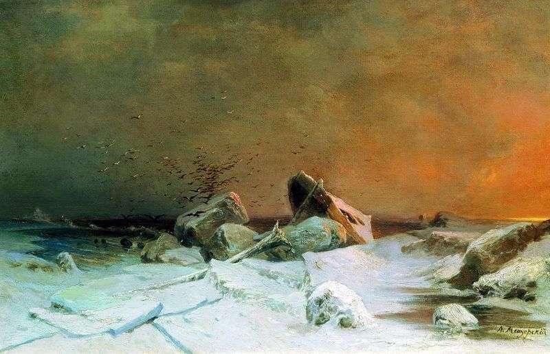 Dryf lodu   Arsenij Meshchersky
