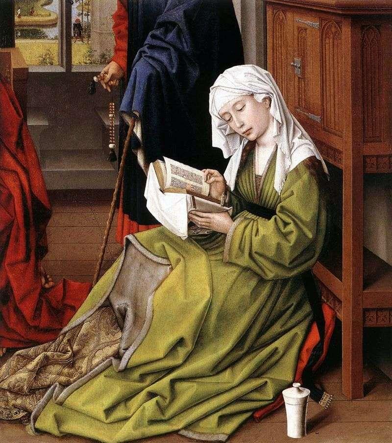 Czytanie Marię Magdalenę   Rogier van der Weyden