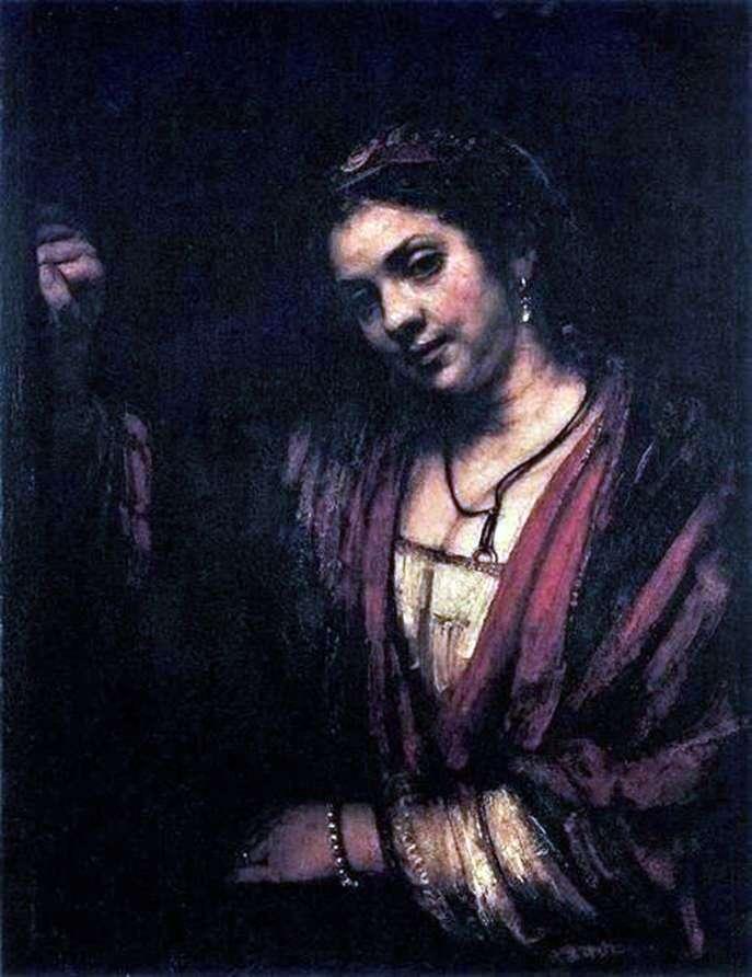 Portret Hendrickje Stoffels   Rembrandt Harmens Van Rhine