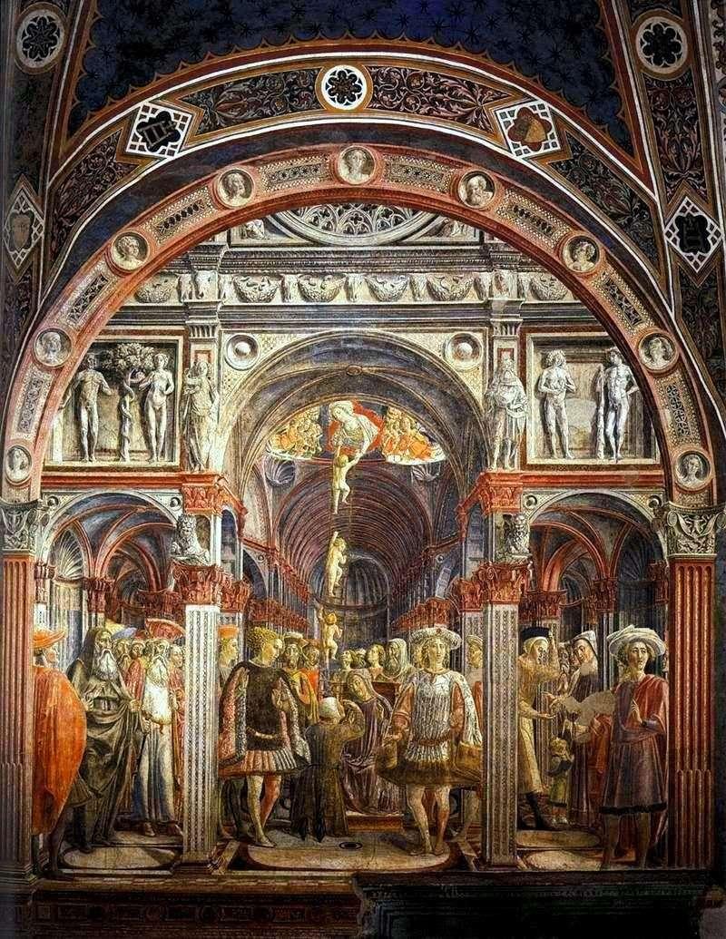 Wizja świętego Sorora   Vecchietta (Lorenzo di Pietro)