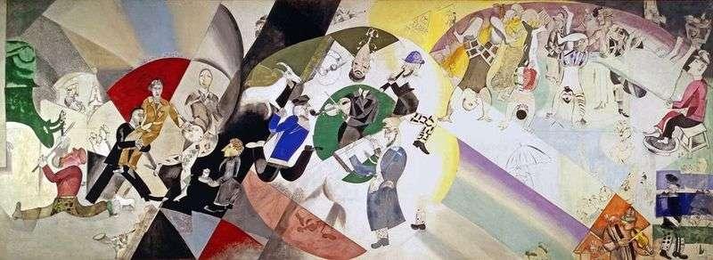 Wprowadzenie do nowego żydowskiego teatru   Marc Chagall
