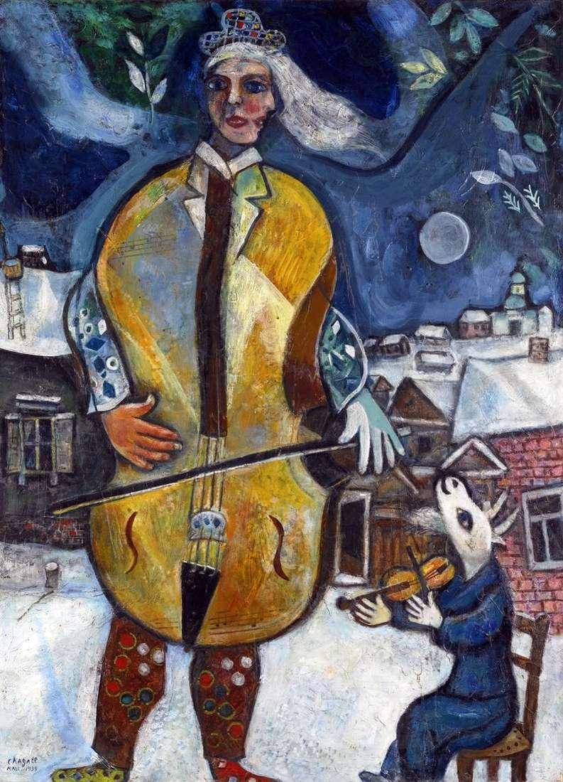 Wiolonczelista   Marc Chagall