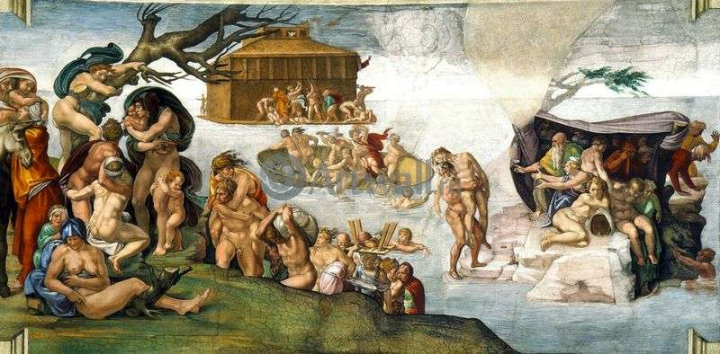 Powódź   Michelangelo Buonarroti