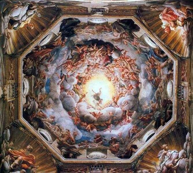 Wniebowstąpienie Matki Bożej   Correggio (Antonio Allegri)