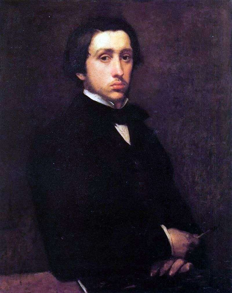 Autoportret   Edgar Degas