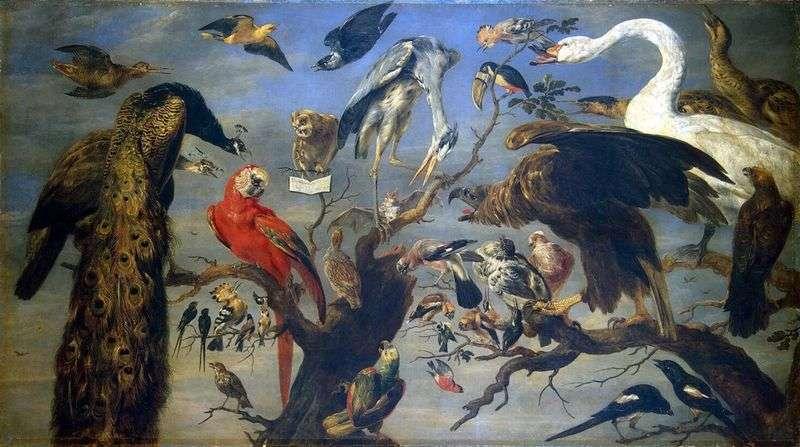 Koncert ptaków   Frans Snyders