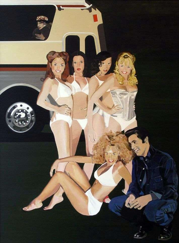 Spotkanie Spice Girls i Elvisa   Petera Blakea