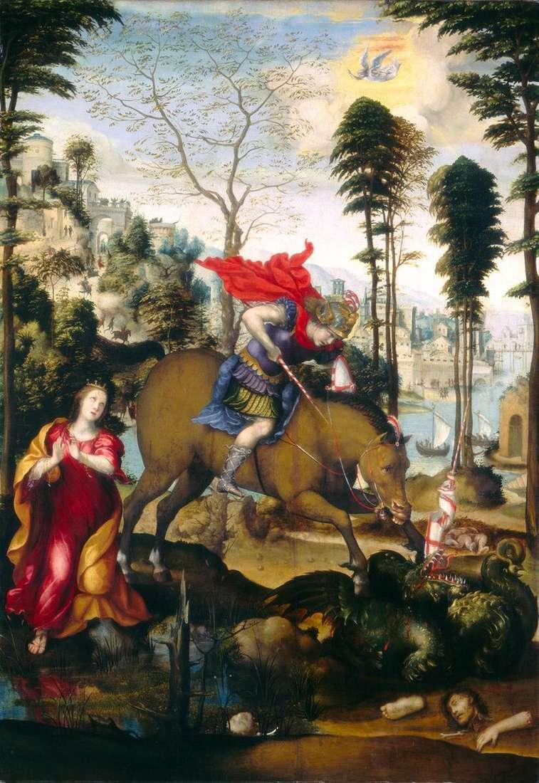 Święty Jerzy i smok   Sodoma