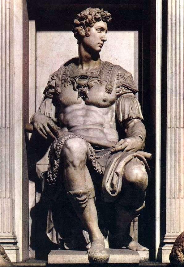 Giuliano Medici   Michelangelo Buonarotti