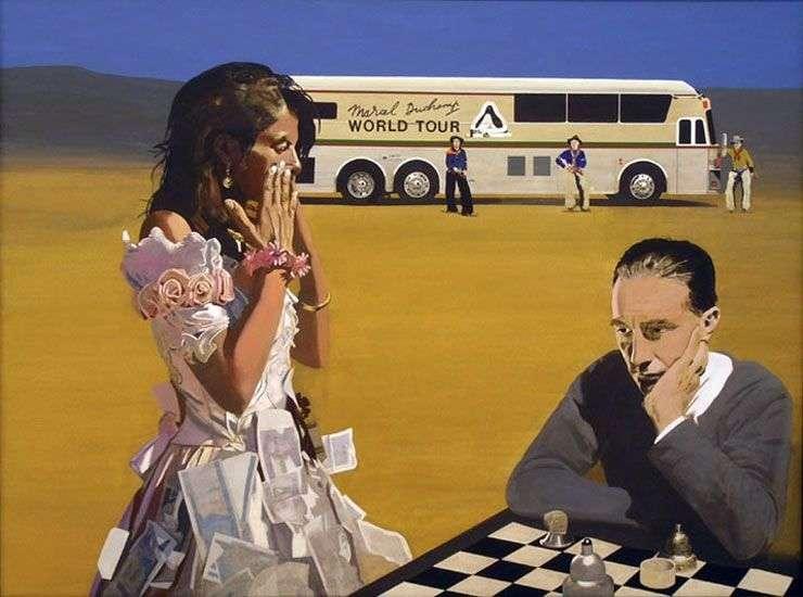 Gra w szachy z Tracy   Peter Blake