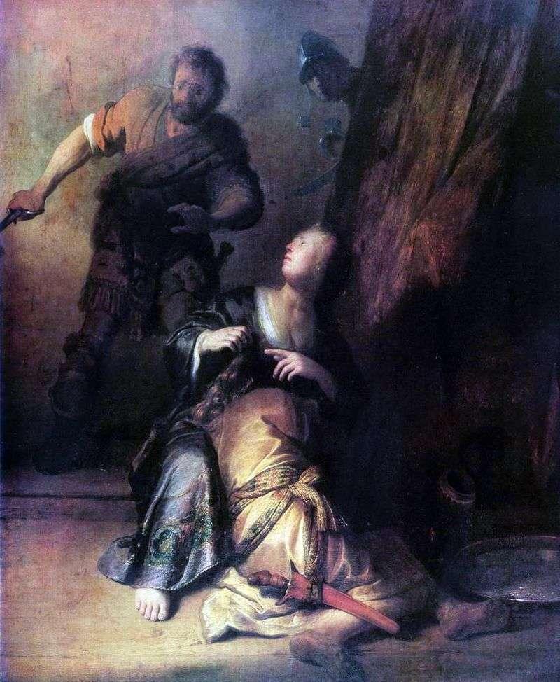 Samson i Delilah   Rembrandt Harmens Van Rhine