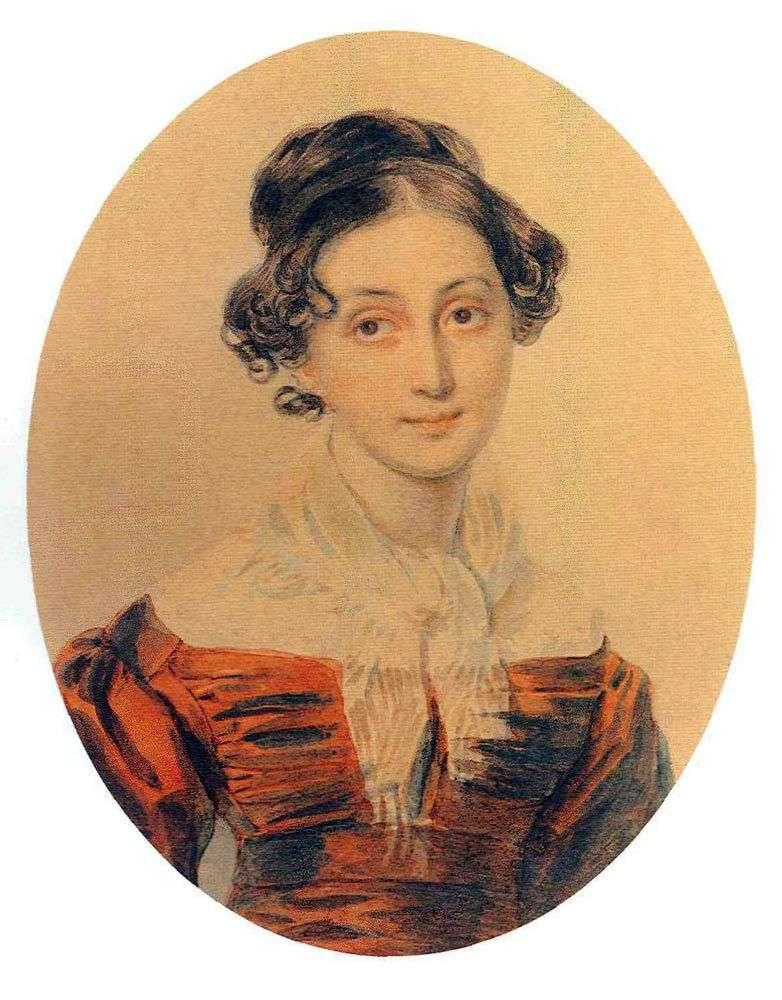 Portret A. A. Olenina   Peter Sokolov