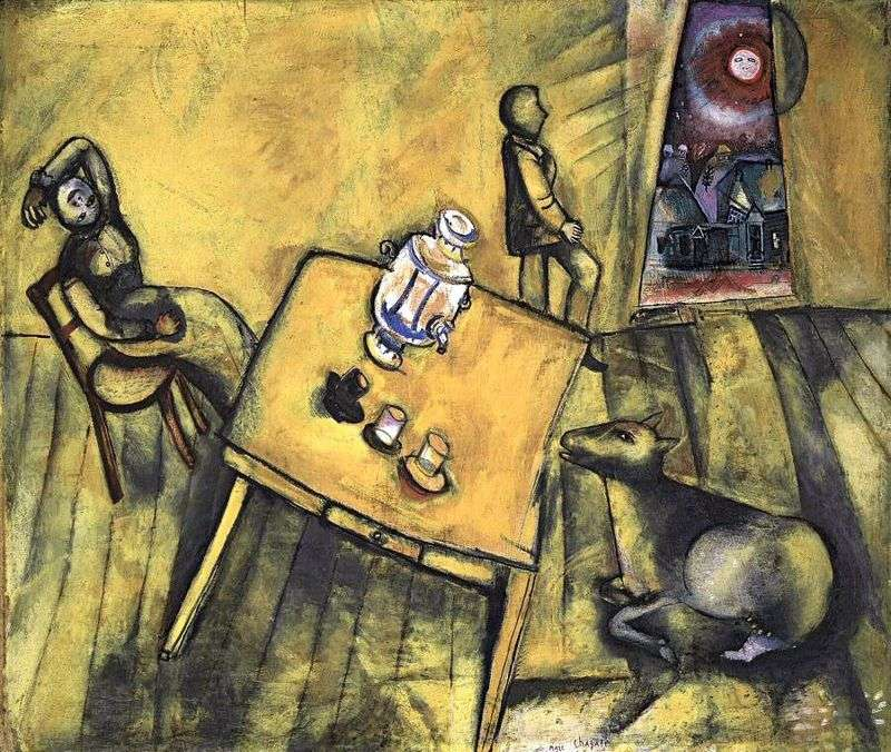 Żółty pokój   Marc Chagall