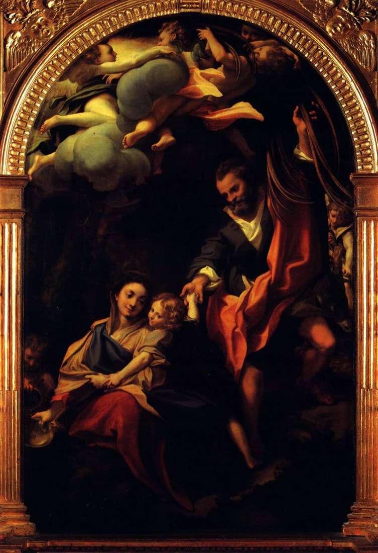 Madonna z koszem   Correggio (Antonio Allegri)