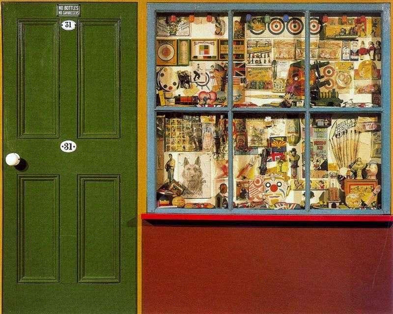 Sklep z zabawkami   Peter Blake