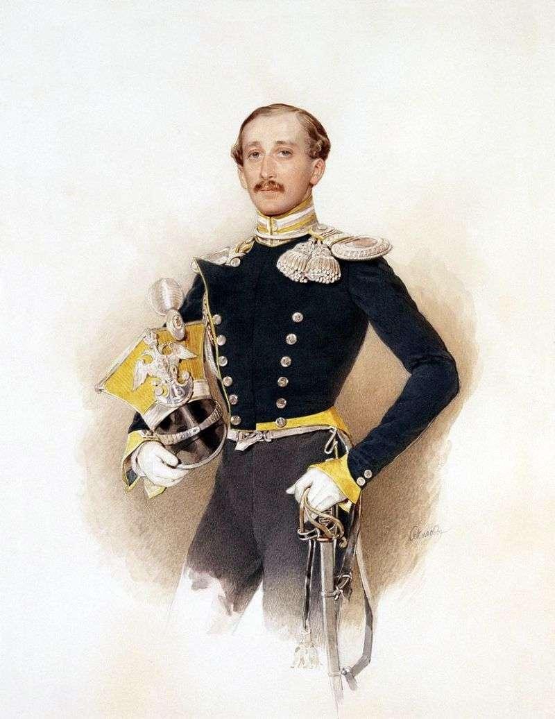 Portret A. Veliasheva   Piotra Sokołowa
